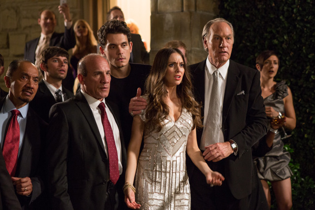 Get Hard movie - Alison Brie and Craig T Nelson
