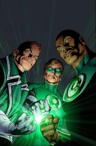 Guy Gardner Hal Jordan John Stewart Green Lantern