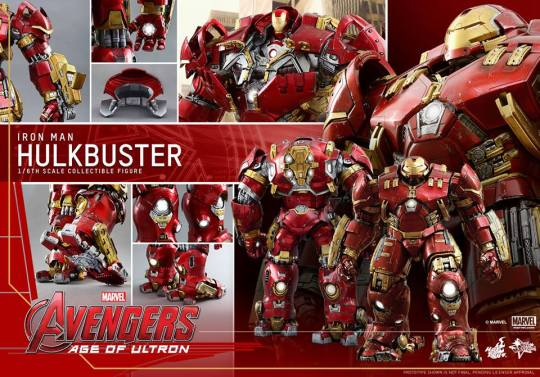 Hot Toys Avengers Age of Ultron Hulkbuster Iron Man - new collage