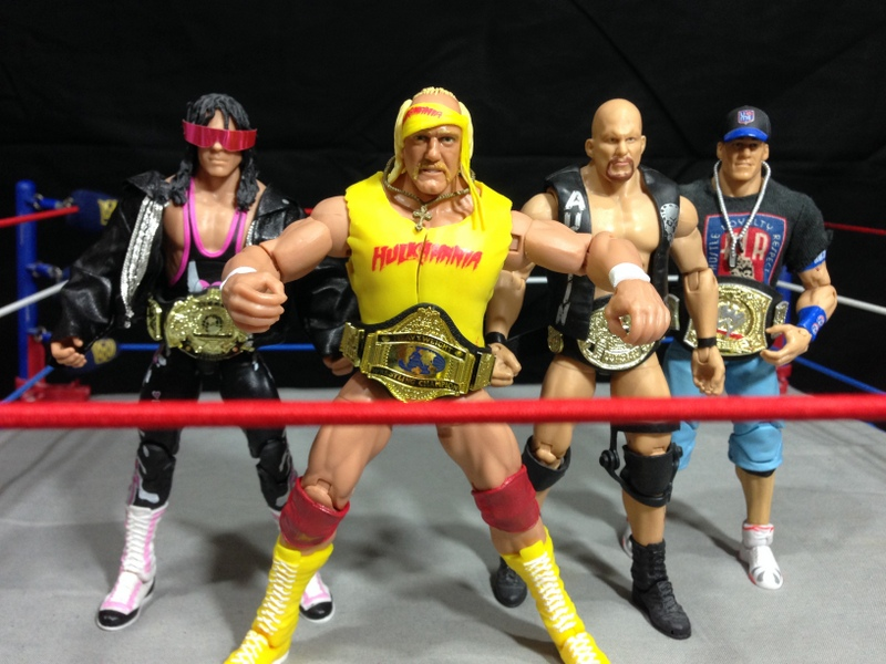 WWE Figure Reviews