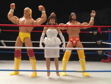 Hulk Hogan Defining Moments figure - MegaPowers posing
