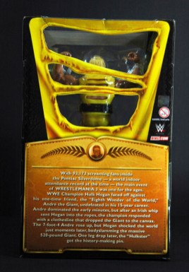 Hulk Hogan Defining Moments figure - package back