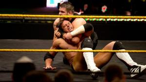 NXT 3-18-15 - Kevin Owens dominates Alex Riley