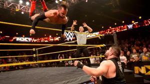 NXT -  Balor soars against Owens