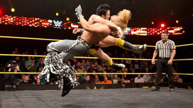 NXT_3-11-15 - Tyler Breeze vs Hideo Itami