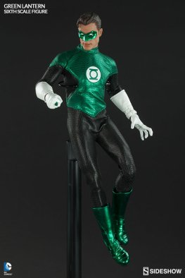 Sideshow Collectibles - Green Lantern Sixth Scale figure - flying on flight stand