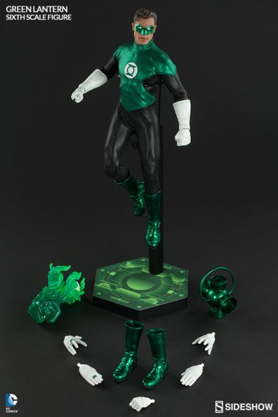 Sideshow Collectibles - Green Lantern Sixth Scale figure - with accessories