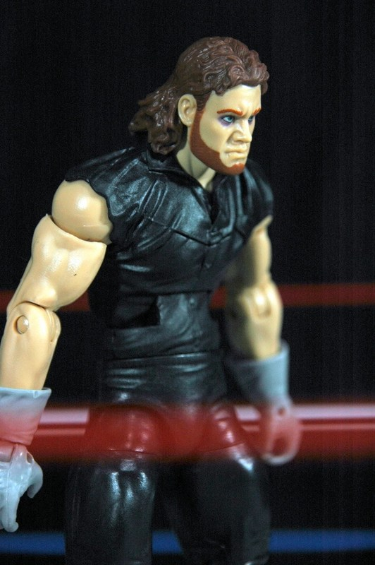 The Undertaker Wrestlemania Heritage - hunched over.