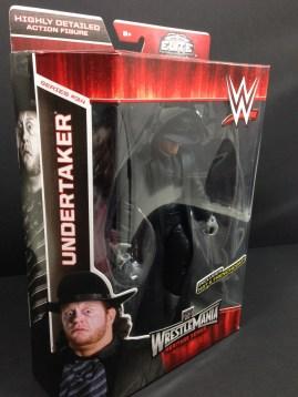The Undertaker Wrestlemania Heritage Series - side package.
