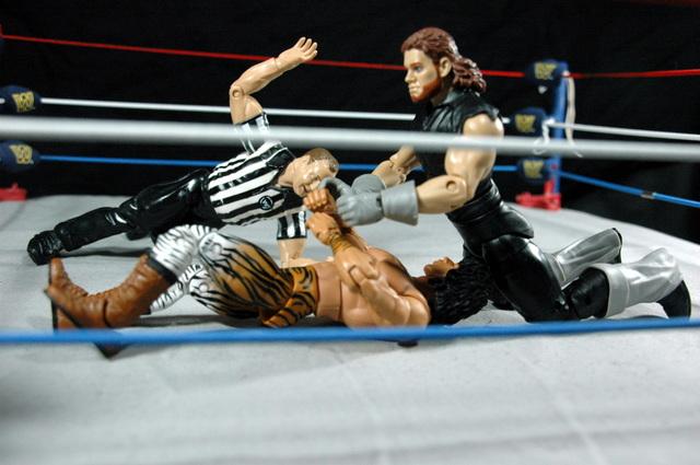 The Undertaker Wrestlemania Streak - vs. Superfly - Hebner counts