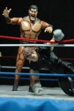 The Undertaker - Wrestlemania The Streak - vs Giant Gonzalez -downed dead man