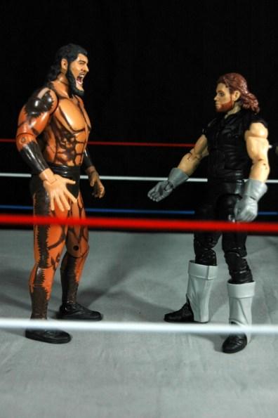 The Undertaker - Wrestlemania The Streak - vs Giant Gonzalez -face off