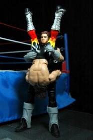 The Undertaker Wrestlemania The Streak - vs Jake the Snake - tombstone outside ring2