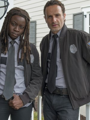 The Walking Dead - Try - Michonne and Rick Grimes