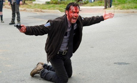 The Walking Dead - Try - Rick Grimes bloody