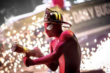 amazing-spider-man-2-picture-spidey-as-a-firefighter