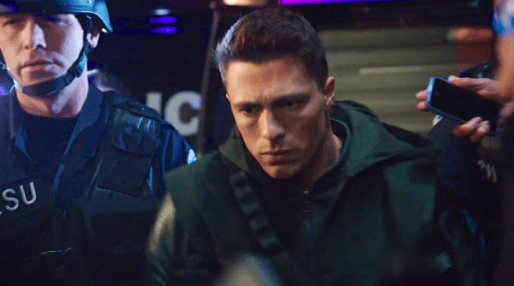 Arrow - Broken Arrow - Roy as Arrow