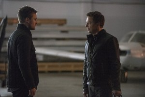 Arrow - The Fallen - Oliver and Merlyn