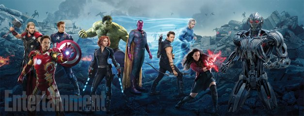Avengers Age of Ultron X-Men homage