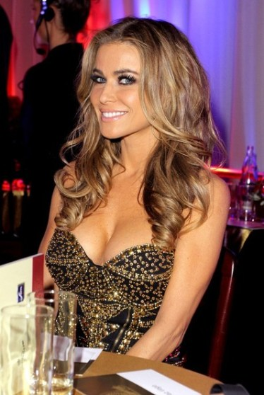 Carmen Electra - cleavage dress