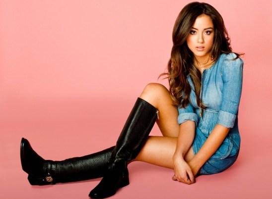 Chloe Bennet - boots