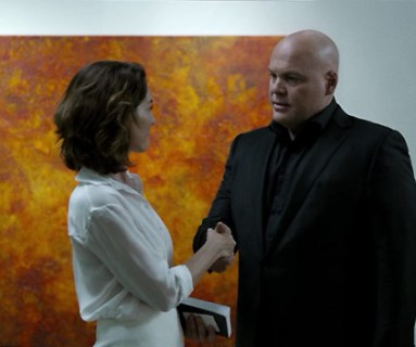 Daredevil - ep. 4 - Vanessa and Wilson Fisk