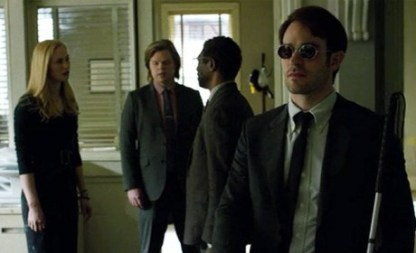 Daredevil Ep. 9 - Speak of the Devil - Karen, Foggy, Ben and Matt