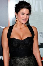 Gina Carano - black dress
