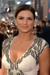 Gina Carano - white top