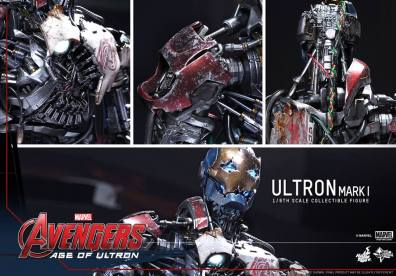 Hot Toys Avengers Age of Ultron - Ultron Mark 1 - collage
