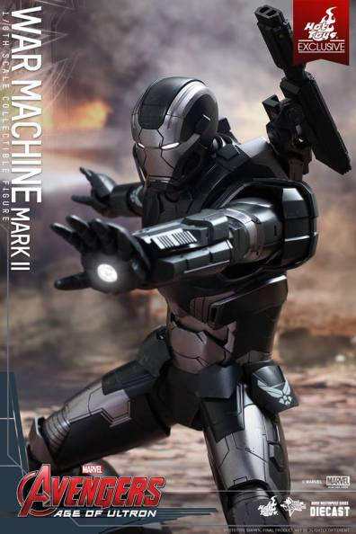 Hot Toys Avengers Age of Ultron War Machine -tight repulsor