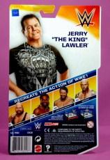 Jerry Lawler figure Basic 49 - Mattel - back package