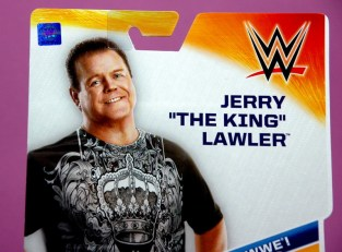 Jerry Lawler figure Basic 49 - Mattel -package portrait