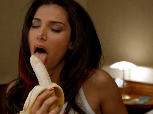 Roselyn Sanchez - licking banana