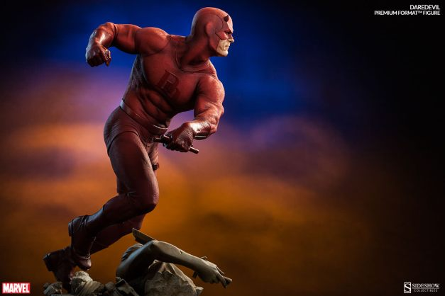 Sideshow Collectibles Daredevil premium format - background