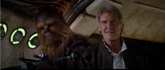 Star Wars - Episode 7 - Han Solo and Chewbacca