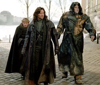 Van Helsing - Hugh Jackman and Frakenstein's monster