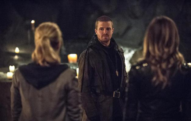 Arrow - This is Your Sword - Felicity, Oliver and Laurel