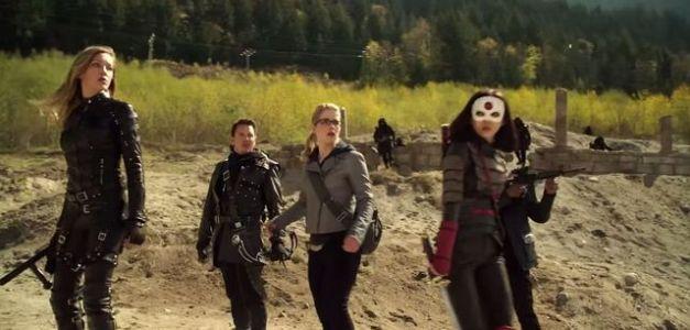 Arrow - This is Your Sword - Team Arrow with Katana