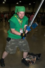 Awesome Con 2015 Day 1 cosplay - camo Link