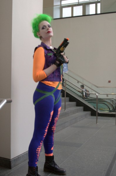 Awesome Con 2015 Day 1 cosplay - Joker