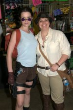 Awesome Con 2015 Day 1 cosplay - Lara Croft and Indiana Jones