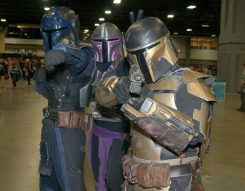 Awesome Con 2015 Day 1 cosplay -Mandalorians
