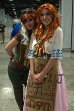 Awesome Con 2015 Day 1 cosplay - Zelda universe