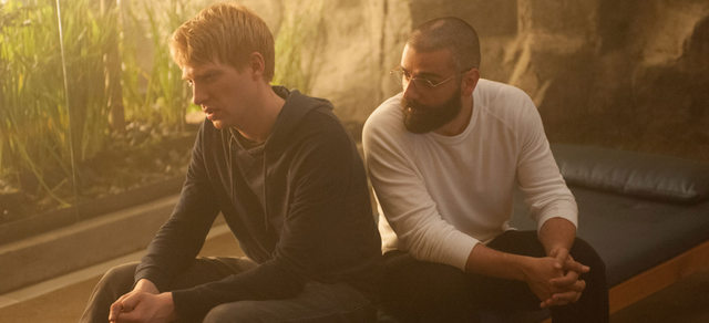 Ex Machina - Domnhall Gleeson and Oscar Isaac