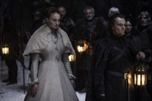 game of thrones Unbowed, Unbent, Unbroken - sansa and theon