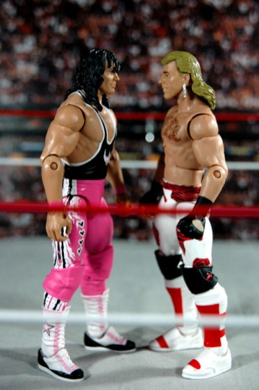 HBK Flashback Ringside - facing off with The Hitman