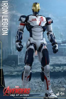 Hot Toys Iron Legion figure - at ease