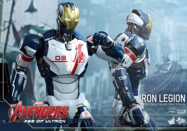 Hot Toys Iron Legion figure - pair