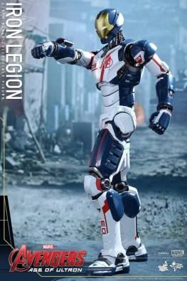 Hot Toys Iron Legion figure - pointing